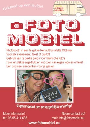 De Fotomobiel flyer